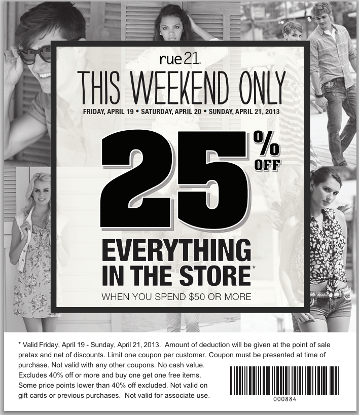 rue 21 coupon